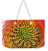 Spinning Watercolor  Weekender Tote Bag