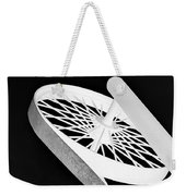 Spinning Wheel Weekender Tote Bag