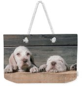 Spinone Puppies Weekender Tote Bag