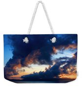 Spiral Clouds Weekender Tote Bag