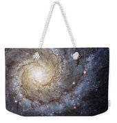 Spiral Galaxy M74 Weekender Tote Bag by Adam Romanowicz