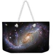 Spiral Galaxy Ngc 1672 Weekender Tote Bag