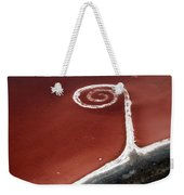 Spiral Jetty From The Air Weekender Tote Bag
