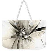Spiral Mania 4 - Black And White Weekender Tote Bag