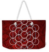 Spiral Of Evolution Expand Your Perception  Weekender Tote Bag