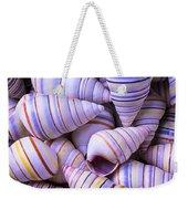 Spiral Sea Shells Weekender Tote Bag