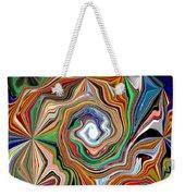 Spiral Splendor Weekender Tote Bag