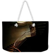 Spiral Staircase In Green And Red Weekender Tote Bag