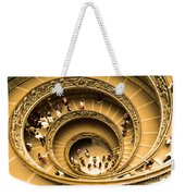 Spiral Staircase Weekender Tote Bag by Stefano Senise