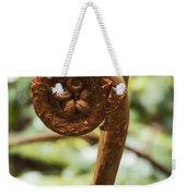 Spiral Tree Fern Weekender Tote Bag