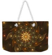 Spiral Wings Weekender Tote Bag