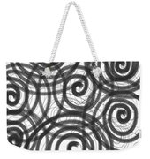 Spirals Of Love Weekender Tote Bag by Daina White