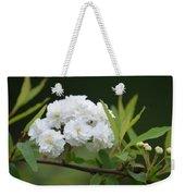 Spirea Blossom Weekender Tote Bag