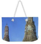 Spires Of The Temple Of Dawn Weekender Tote Bag