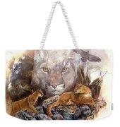 Spirit Cat Weekender Tote Bag