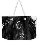 Spirit Feathers Horse Weekender Tote Bag