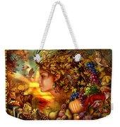 Spirit Of Autumn Weekender Tote Bag