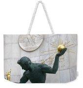 Spirit Of Detroit Monument Weekender Tote Bag
