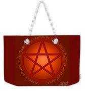 Spirit Of Fire Weekender Tote Bag