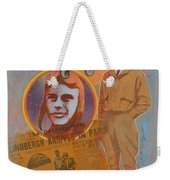 Lindbergh, Spirit Of St. Louis Weekender Tote Bag
