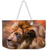 Spirit Of The Lion Weekender Tote Bag