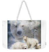 Spirit Of The White Bears Weekender Tote Bag