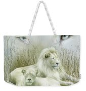 Spirit Of The White Lions Weekender Tote Bag