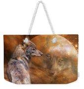 Spirit Of The Wolf Weekender Tote Bag
