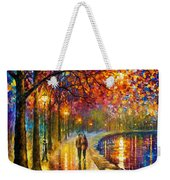 Spirits By The Lake - Palette Knife Oil Painting On Canvas By Leonid Afremov Weekender Tote Bag