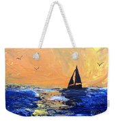 Spirits Rise As The Sails Fill Weekender Tote Bag