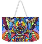 Spiritual Guide Weekender Tote Bag by Teal Eye  Print Store