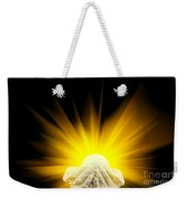 Spiritual Light In Cupped Hands Weekender Tote Bag