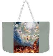 Spiritual Warfare Weekender Tote Bag