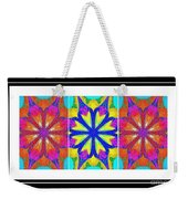 Spirituality - Life Lights - Kaleidoscope - Triptych Weekender Tote Bag