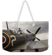 Spitfire On Display Weekender Tote Bag