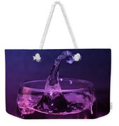 Splash Weekender Tote Bag by Aaron Berg