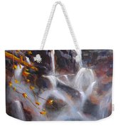 Splash And Trickle Weekender Tote Bag