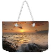 Splash Of Paradise Weekender Tote Bag