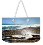 Splashes At Sea Weekender Tote Bag