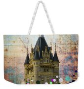 Splattered County Courthouse Weekender Tote Bag