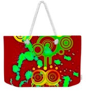 Splattered Series 10 Weekender Tote Bag