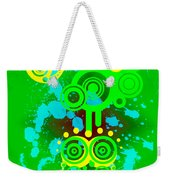 Splattered Series 3 Weekender Tote Bag