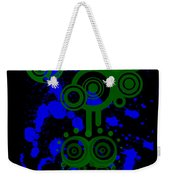 Splattered Series 8 Weekender Tote Bag