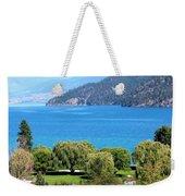 Splendid Kalamalka Lake Weekender Tote Bag