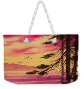 Splendid Sunset Bay Weekender Tote Bag