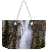 Splendor Of Takakkaw Falls Weekender Tote Bag