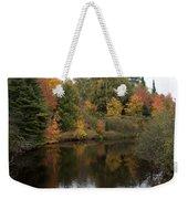 Splendor On A River Weekender Tote Bag