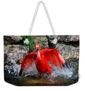 Splish Splash - Red Ibis Weekender Tote Bag