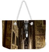 Split Cathedral From The Temple Of Jupiter At Night Croatia Weekender Tote Bag