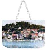 Split Harbour Croatia Weekender Tote Bag